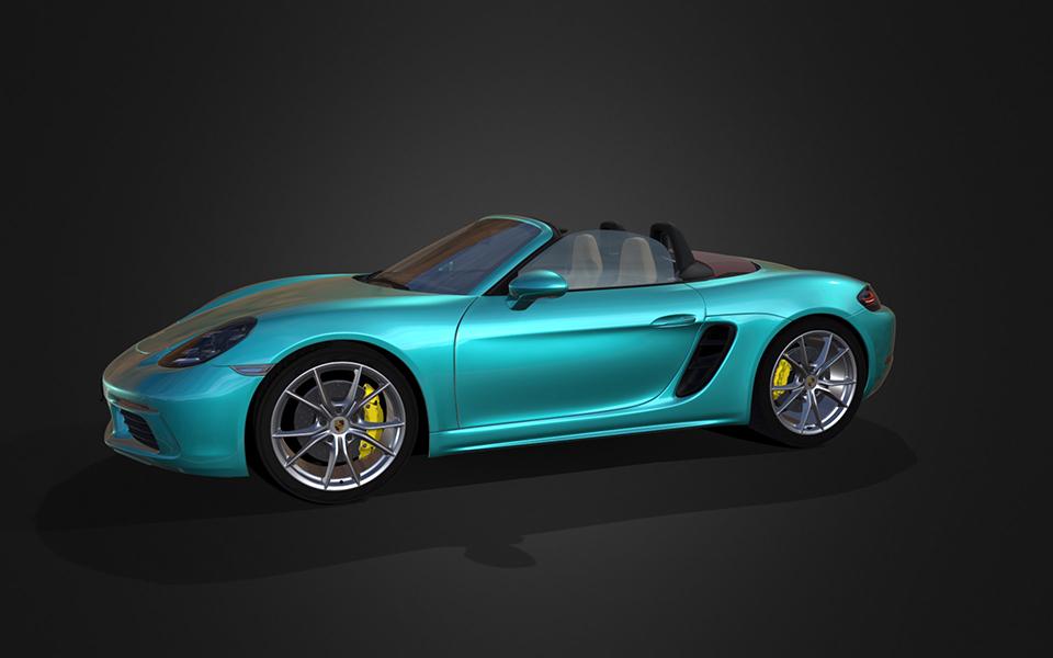 3D Model | Porsche Boxster 718